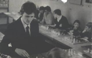 Шаховий турнір пам'яті О.С.Мороза